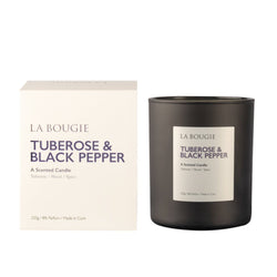 Tuberose & Black Pepper - La Bougie Candles