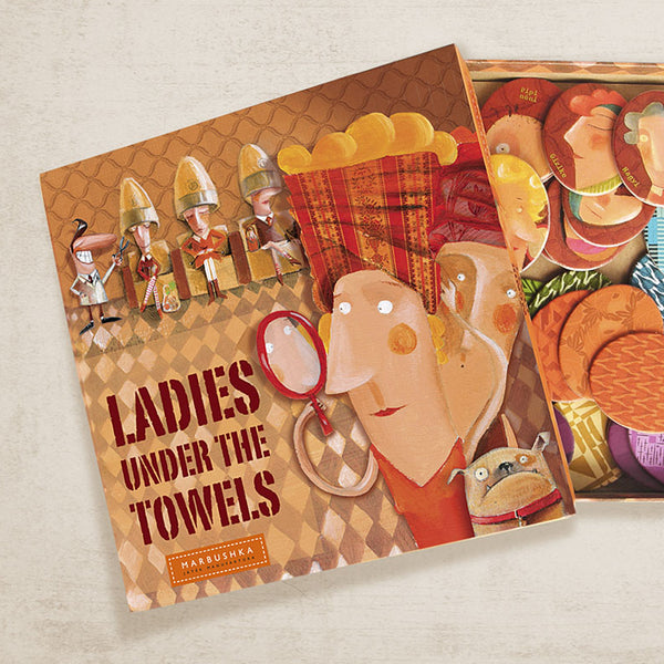 Ladies Under the Towels Board Game