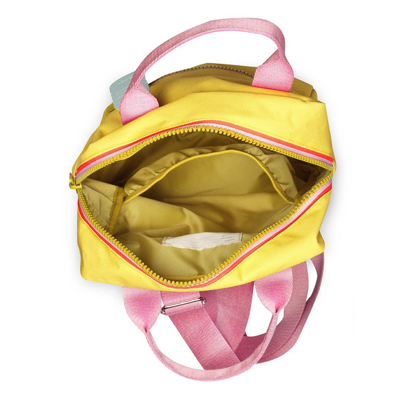 Zipper Backpack Yellow