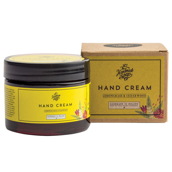 Lemongrass & Cedarwood Irish Hand Cream