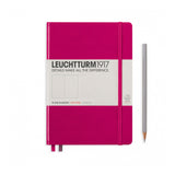 Leuchtturm1917 A5 Hardcover Notebook - Berry - Dotted