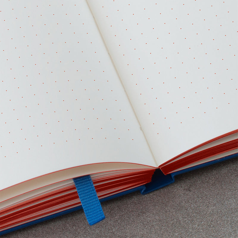 Leuchtturm1917 Red Dots Royal Blue