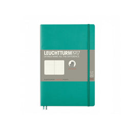 Leuchtturm1917 B6 Soft Cover Notebook - Emerald - Dotted