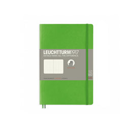 Leuchtturm1917 B6 Soft Cover Notebook - Fresh Green - Dotted