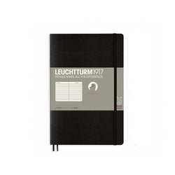 Leuchtturm1917 B6 Soft Cover Notebook - Black - Ruled