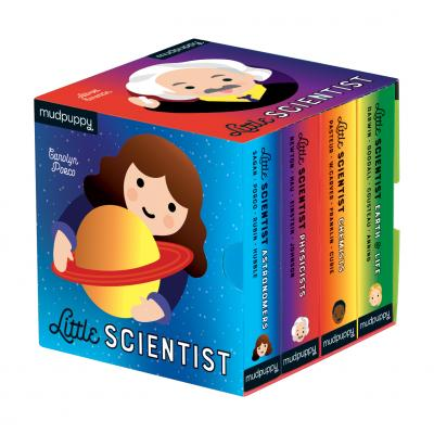 Little Scientist Board Book Collection
