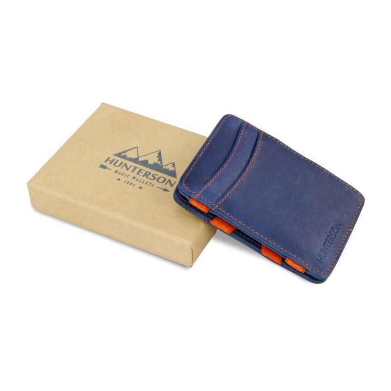 Hunterson Magic Coin Wallet - Blue & Orange