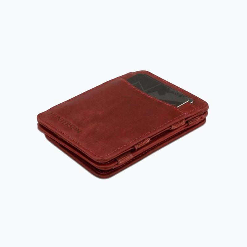 Hunterson Magic Coin Wallet - Burgundy