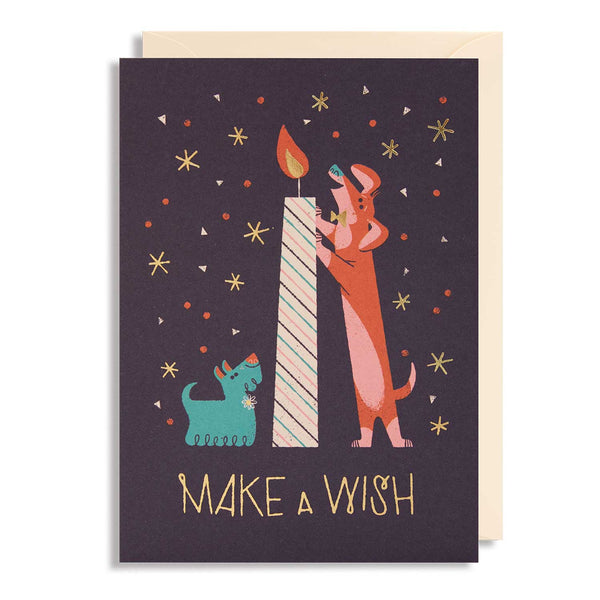 Make a Wish Birthday Candle