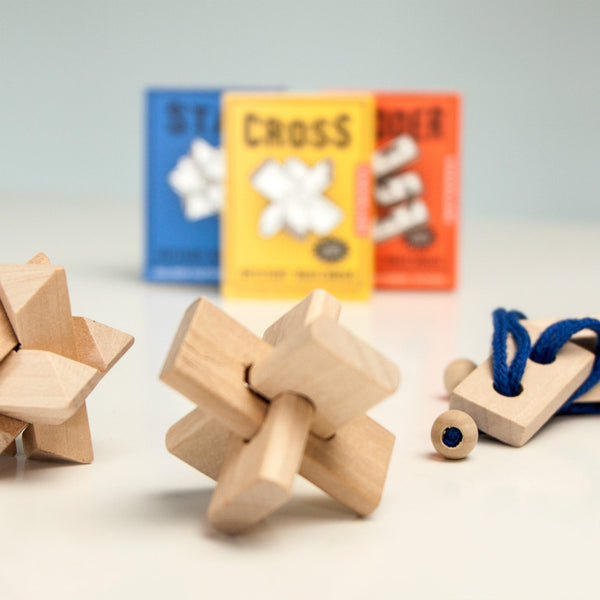 Mystery Matchbox Wooden Puzzles