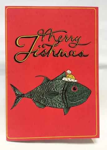 Merry Fishmas - Holly Pereira