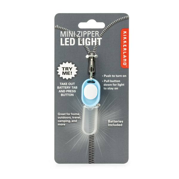 Mini Zipper LED Light
