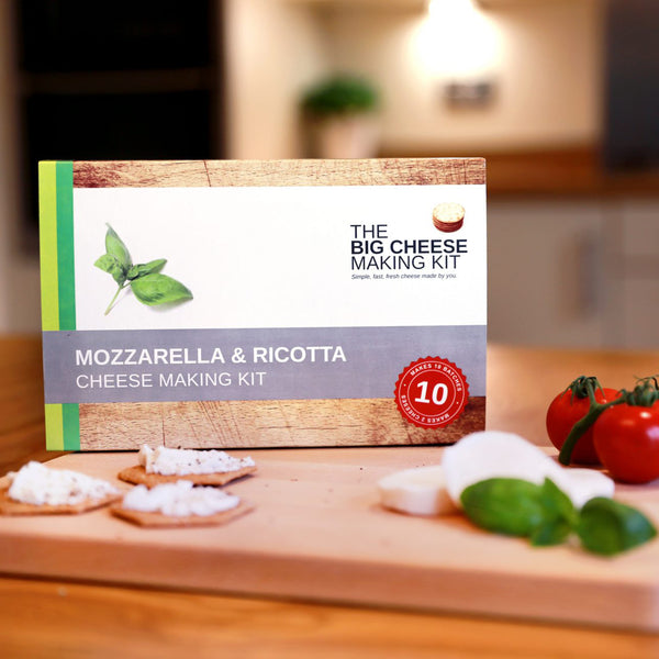 Mozzarella & Ricotta Cheese Making Kit