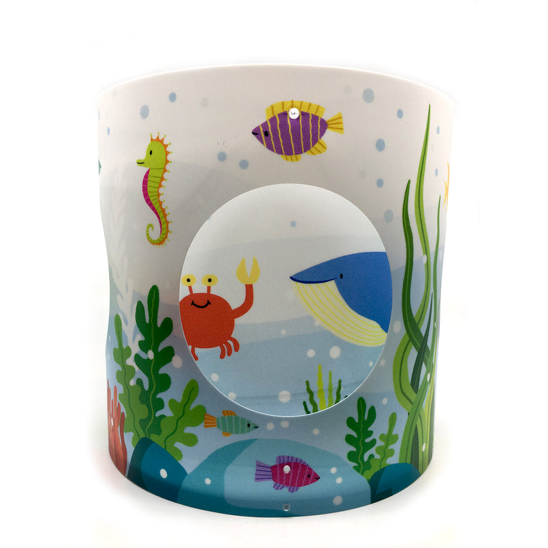 Chris Judge Ocean Rotating Lampshade