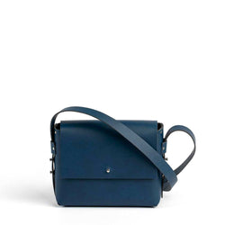 Oris  handbag - matt navy