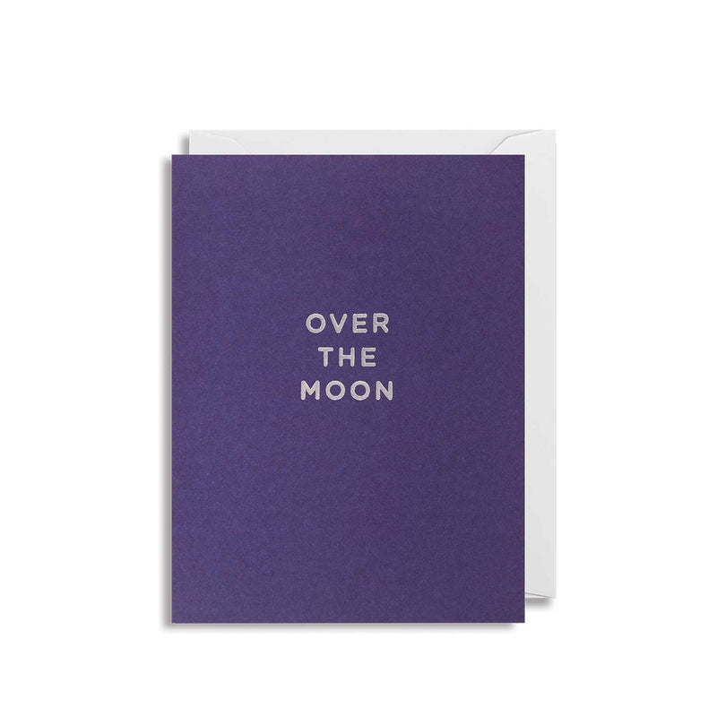 Over the Moon: Mini Card
