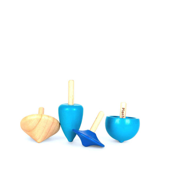 Wooden Spinning Tops
