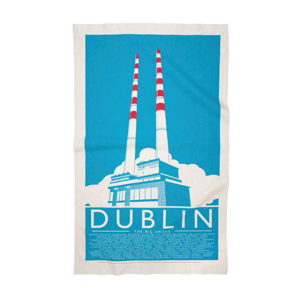 Grand Grand Poolbeg Tea Towel