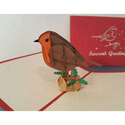 Red Robin Pop Up Card