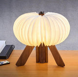 R Space Lamp - Walnut