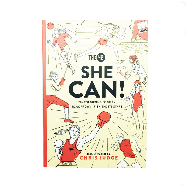 She Can! The Colouring Book for Tomorrow's Sports Fans