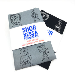 Sheela na Gig Tea Towel