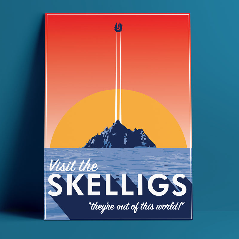 Skelligs - Star Wars Print