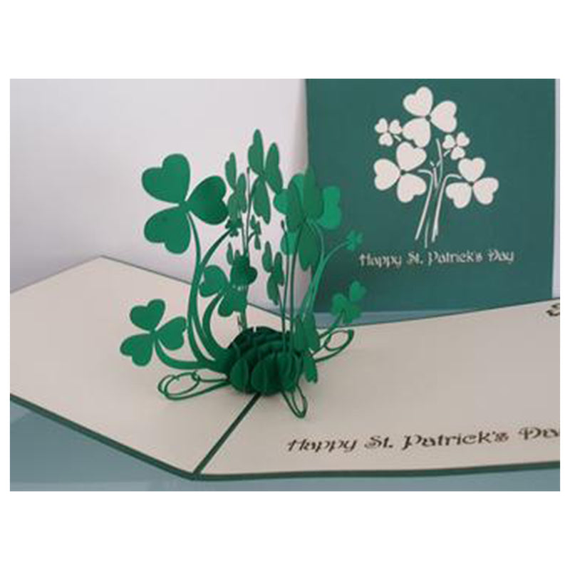 St. Patrick's Day Shamrock Pop Up