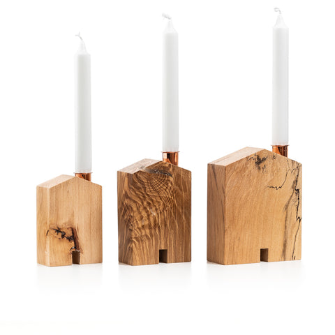 Teach Candle Holders by Sam Agus Nessa