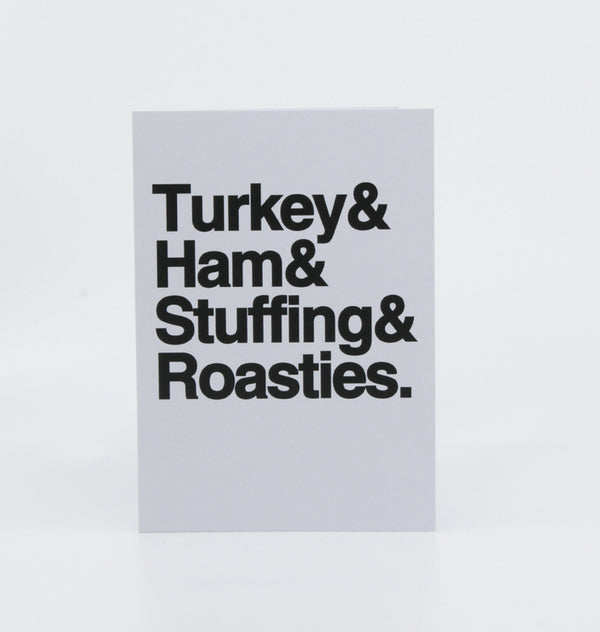 Turkey & Ham, Stuffing & Roasties