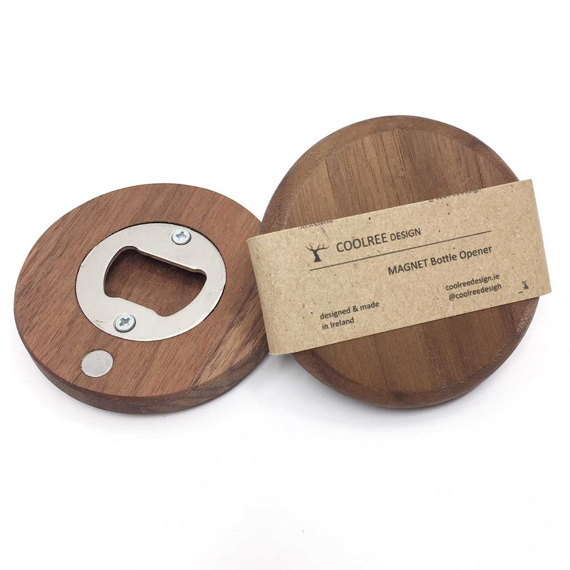 Walnut Bottle Opener
