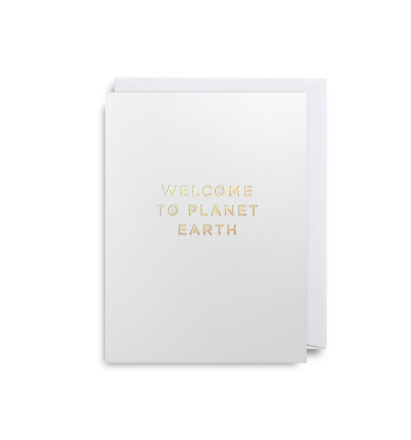Welcome to Planet Earth: Mini Card