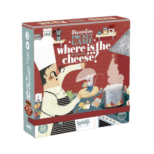 Where is the Cheese? - observation game