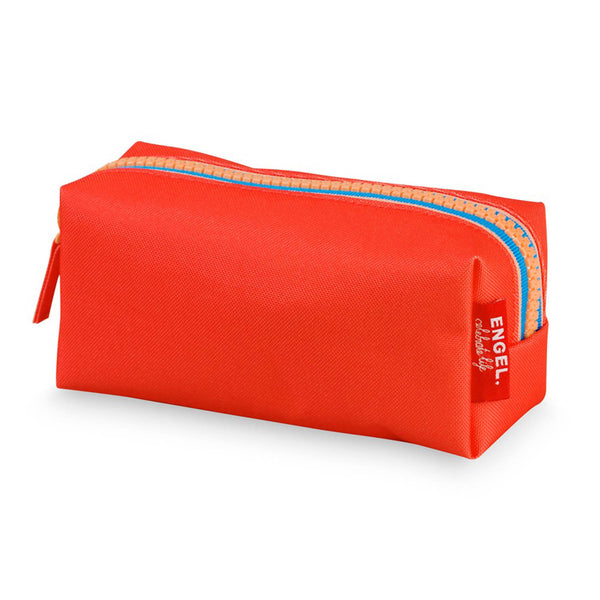 Zipper Pencil Case Tangerine
