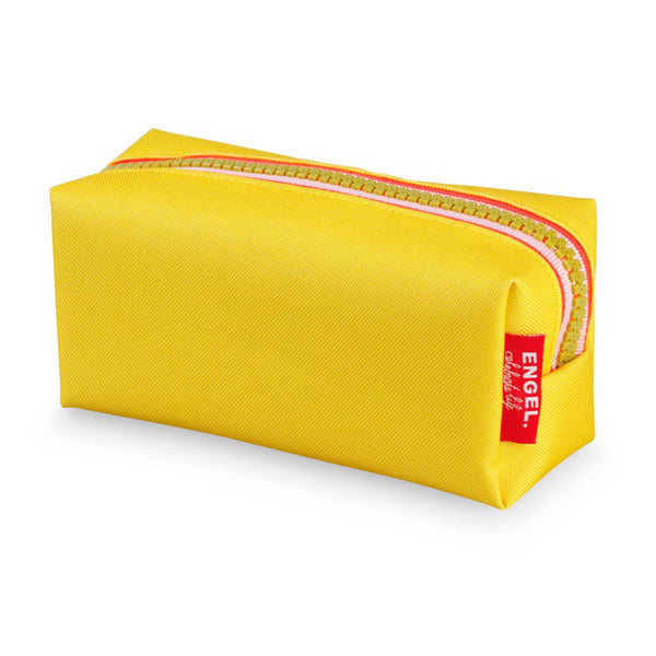 Zipper Pencil Case Yellow