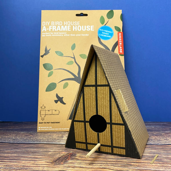 DIY Bird House - A Frame House