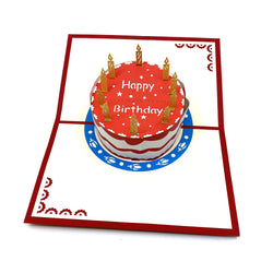 Birthday Cake Pop Up Card