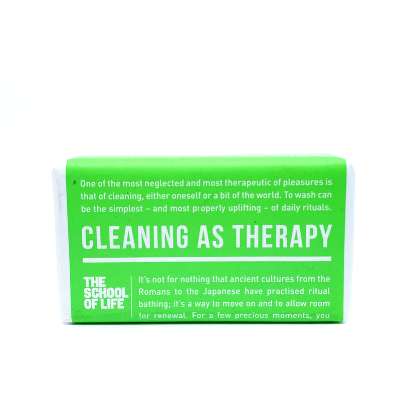 Cleaning as Therapy Soap