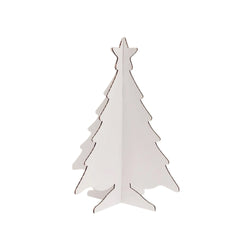 Colour in Cardboard Christmas Tree - Small