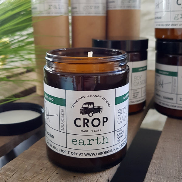 Crop Candle - Earth