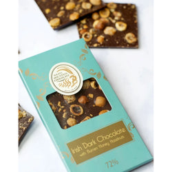 Irish Dark Chocolate - with burren honey hazelnuts
