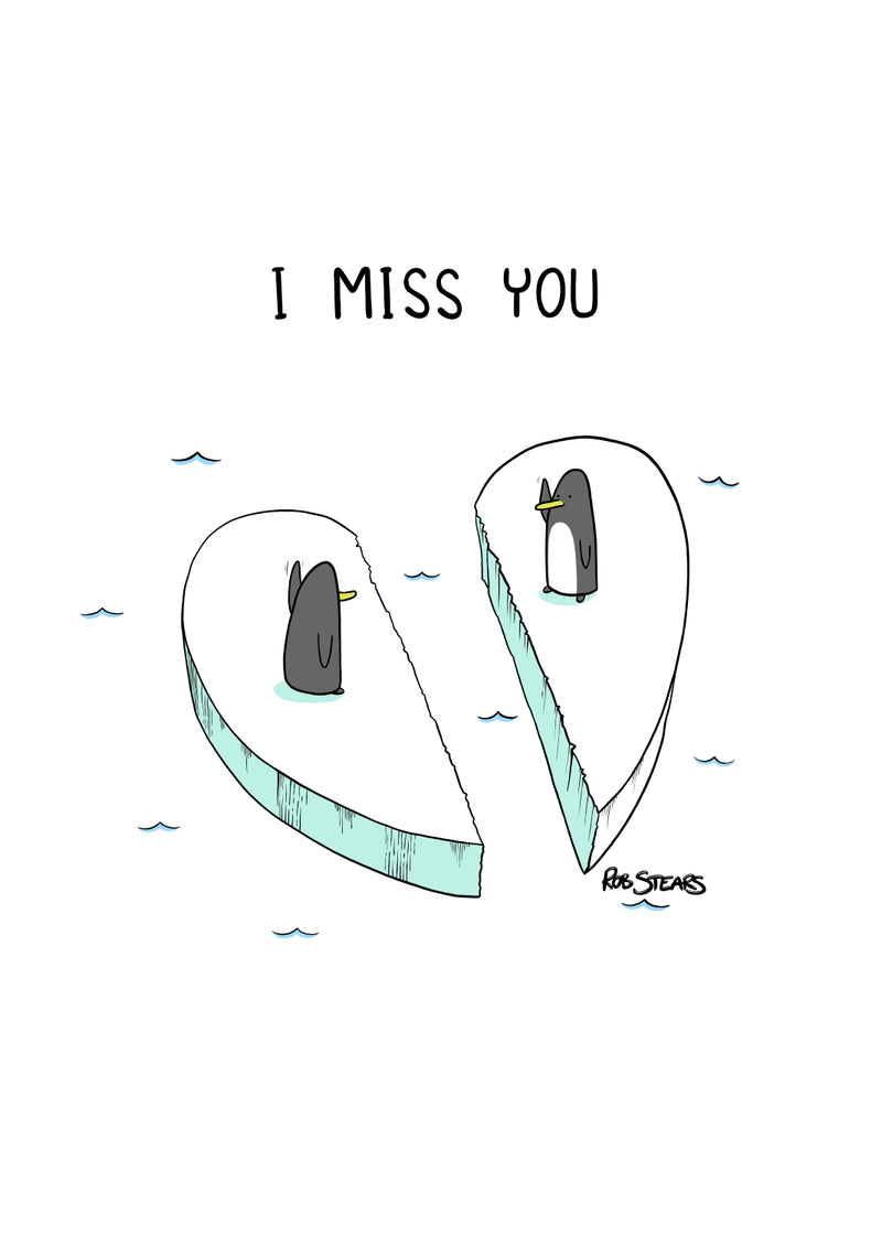 I Miss You - Penguins