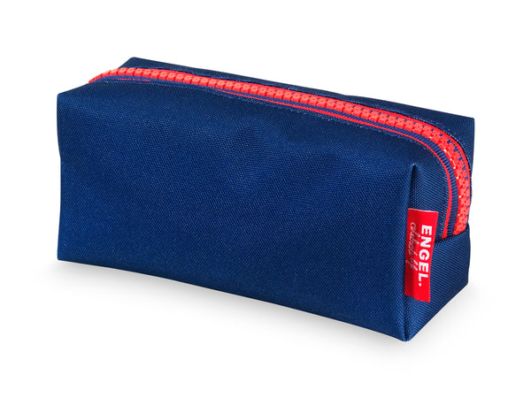 Zipper Pencil Case Dark Blue