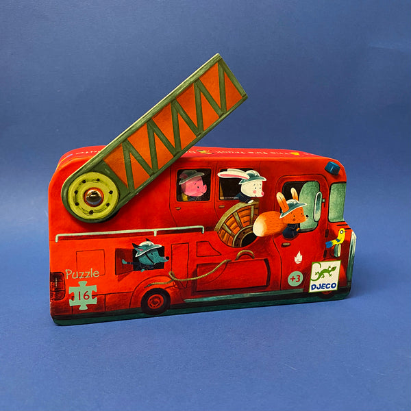 The Fire Truck  - Jigsaw Puzzle