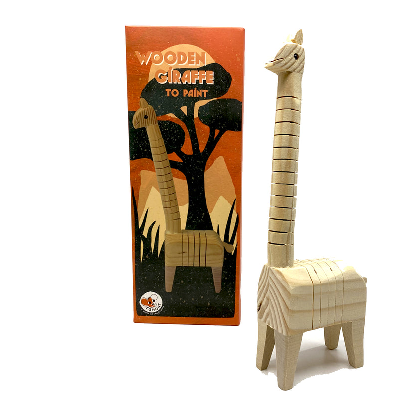 Paint Your Own Wooden Giraffe