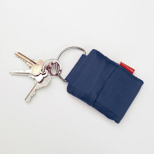 Keyring reusable bag - blue