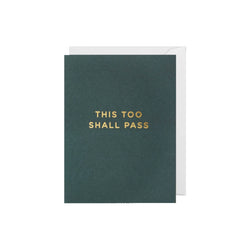 This too shall pass: Mini Card