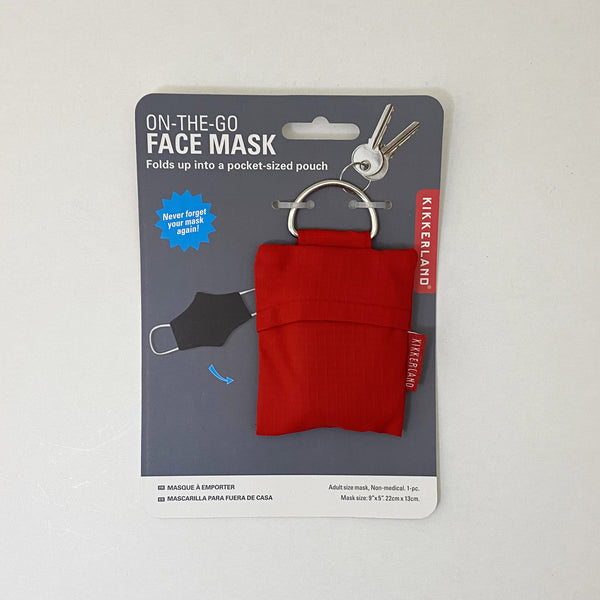 On the Go Facemask & Pouch