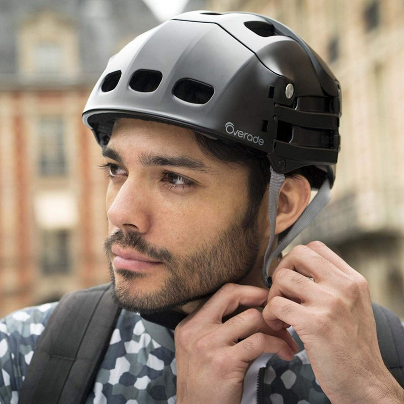 Plixi Folding Bike Helmet - Black