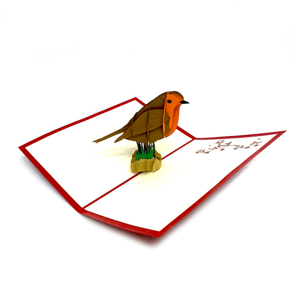 Red Robin -  Pop Up Card